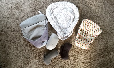 Image of different size and brands of infant inserts