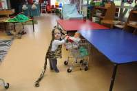 Tiny Josh in the Playcentre spirit before we had even graduated from SPACE