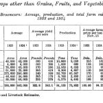 Broomcorn production by state 1924