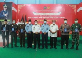 Wabup Hadiri Acara Serah Terima Jabatan Lembaga Pemasyarakatan Kelas II B Kuala Tungkal