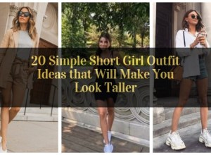 Simple Short Girl Outfit Ideas that Will Make You Look Taller_featured