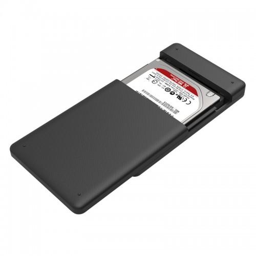 """Orico 2577U3-BK 2.5"""" USB3.0 to SATA III Hard Drive Enclosure"""