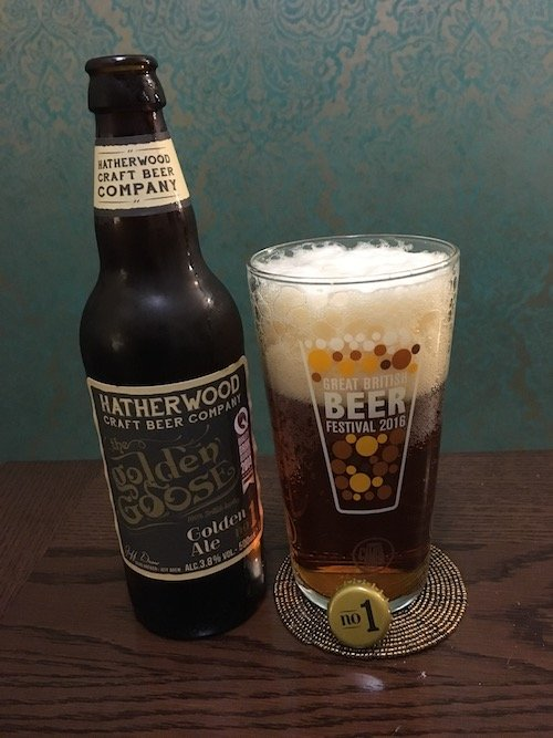 Hatherwood Golden Goose Ale