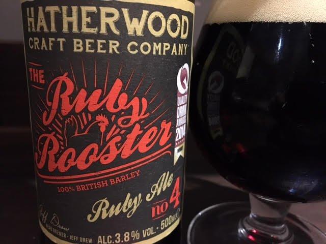 Hatherwood Ruby Rooster Ruby Ale Tasting