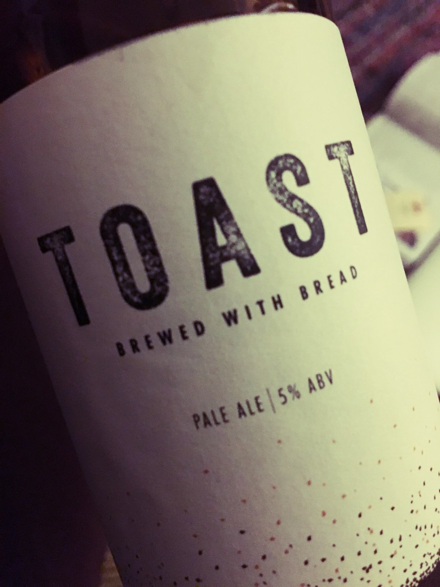 Toast Pale Ale - Beer Brewed from Bread