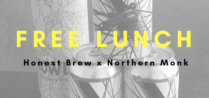 Honest Beer x Northern Monk Collab - Free Lunch
