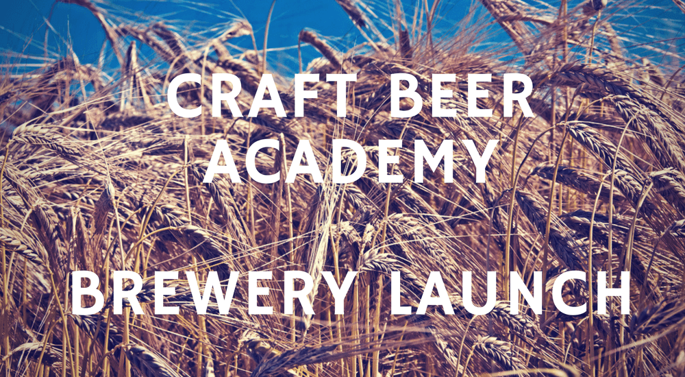 Craft Academy Brewery Launching