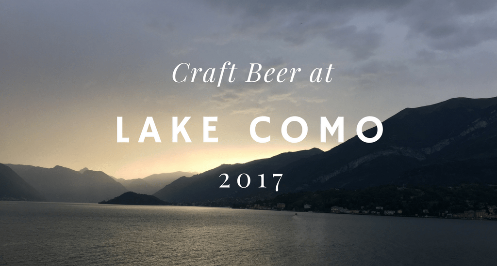 found some craft beer at lake como