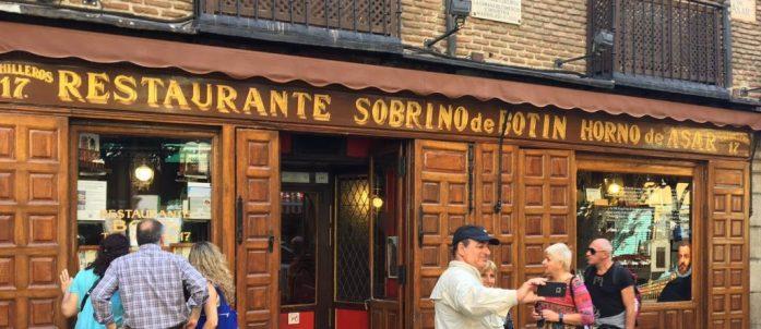 Restaurante Botin, Madrid
