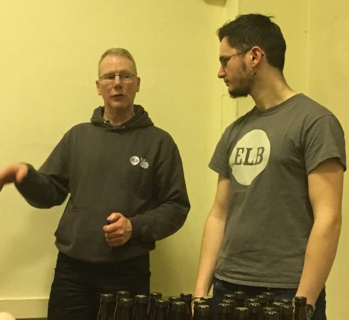 ELB Introduce the Beers on Offer