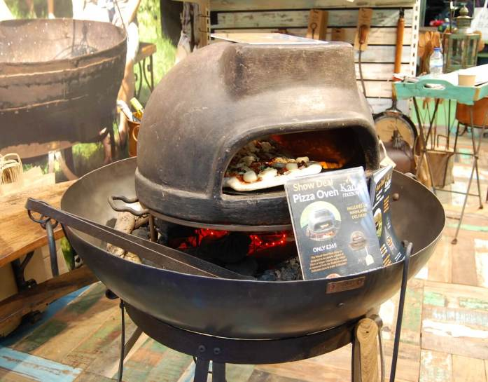 Fire Bowl Pizza Oven