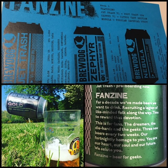Fanzine Brewdog Week 1