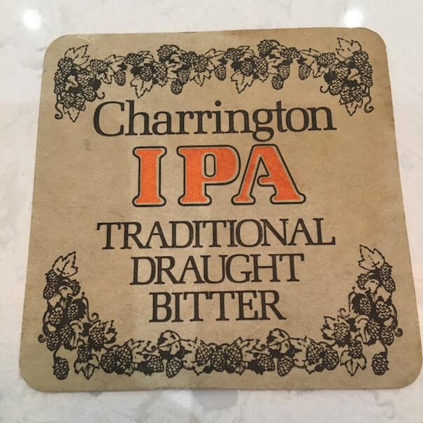 Charrington IPA - Beermat