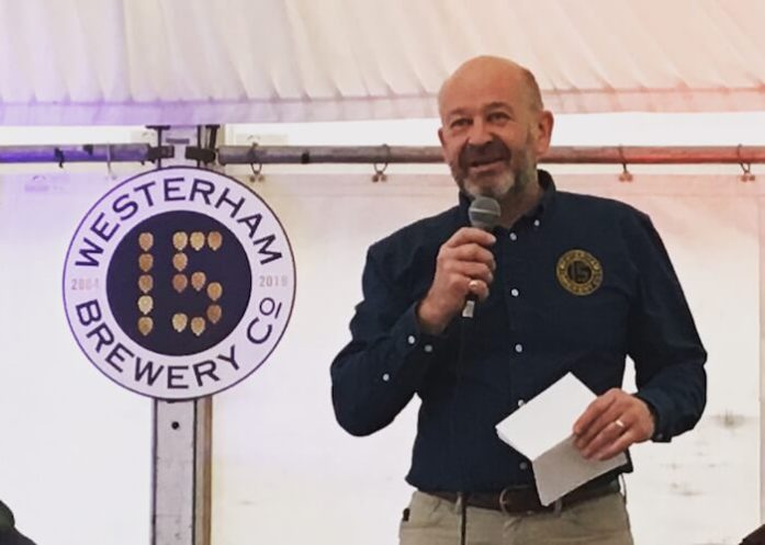 Robert Wicks Westerham Brewery
