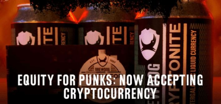 Brewdog Accepting Cryptocurrencies