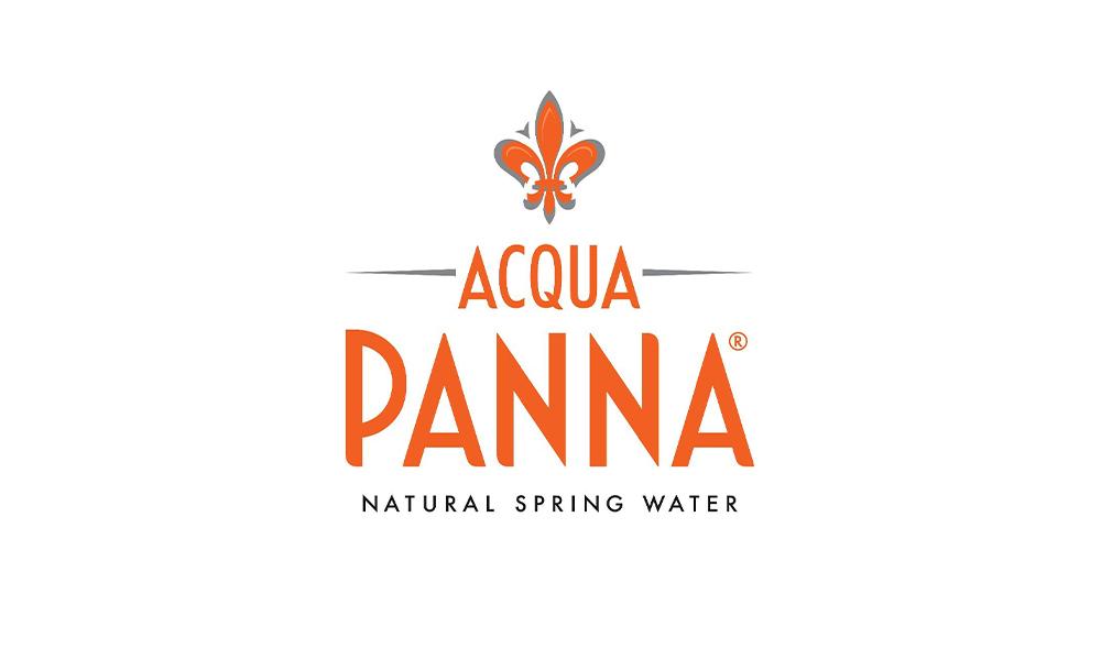 acqua panna natural spring water logo