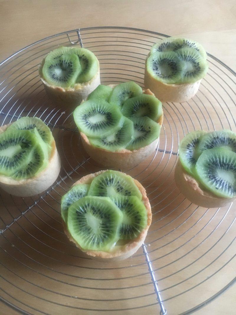 tartelette kiwi