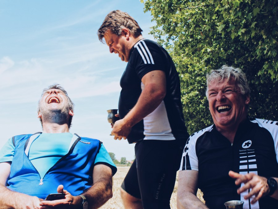 Bacchus Travel Business to Business Cycling Laughter