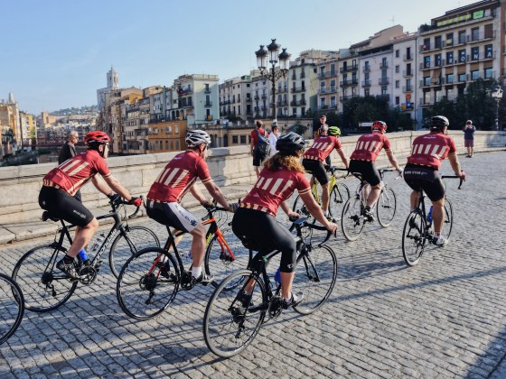 Bacchus Travel Bikes Catalonia Cycling Charity Corporate
