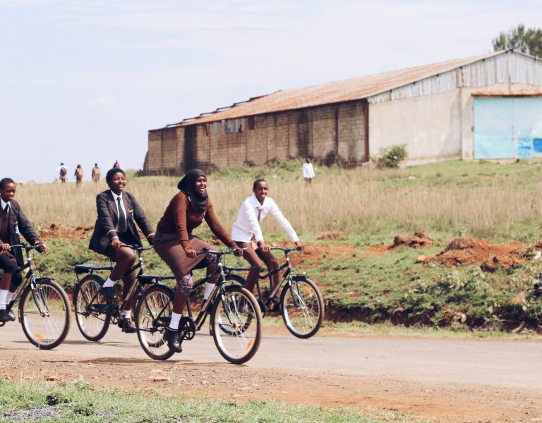 Bacchus Travel Charity Partners World Bicycle Relief