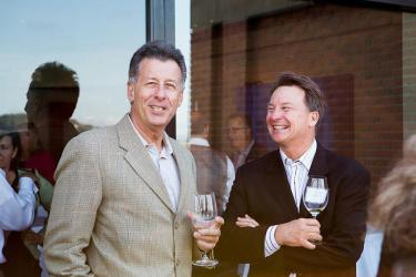 Steve Cousins (General Manager, Sbragia Family Vineyards/ Chief Operating Officer, Madrigal Family Winery) and Joe Dobbes
