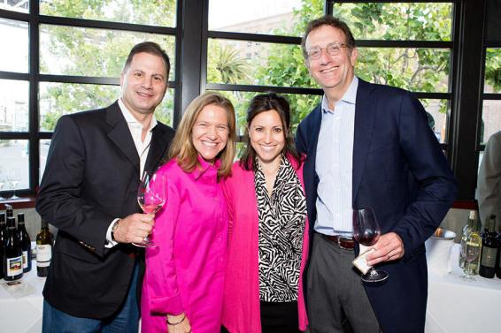 Peter Kaufman, Hilary Peck (Marketing Director), Leslie Glassman (Marketing Manager), Sam Bronfman