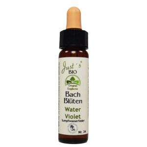 Water Violet/ Wasserfeder Nr. 34 Bio Bachblüten Tropfen original englische Qualität