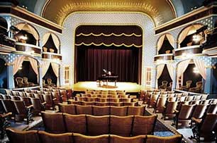 Stoughton Opera House Interior