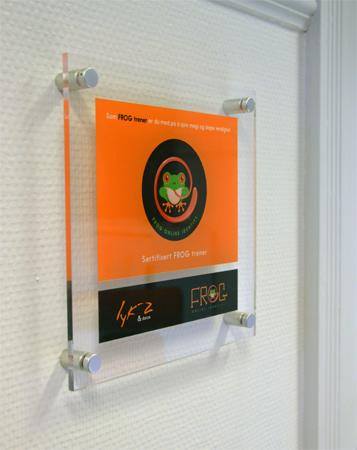 lyk-z sertifiserings skilt/ certification sign