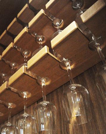 Mersmak spesial hyller til glass/ shelves for glasses