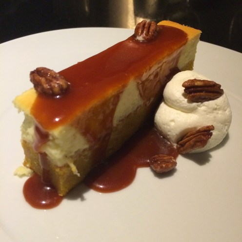 BELLWETHER FARMS FROMAGE BLANC PUMPKIN CHEESE CAKE
