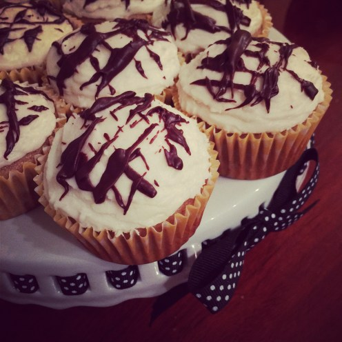 Delicious spice cake cupcakes