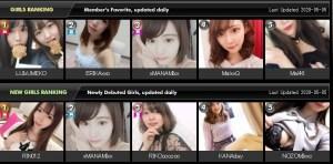 DxLive Japanese models