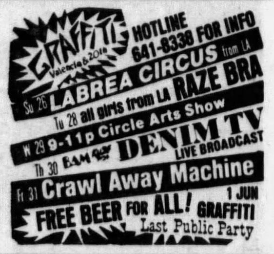 La Brea Circus Ad