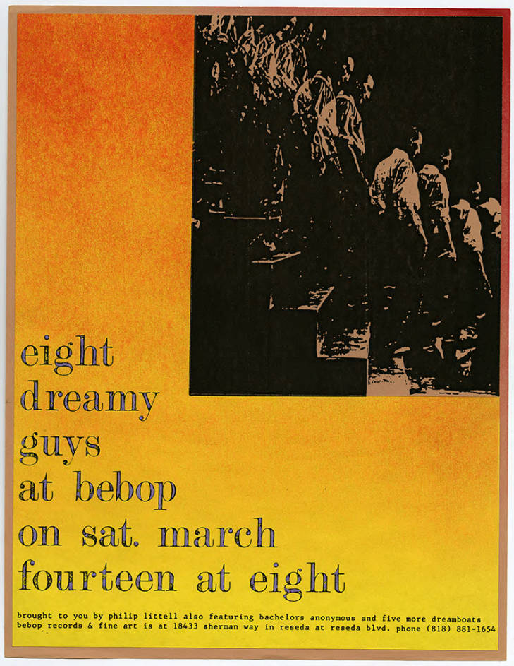 BA at Bebop Records Flyer