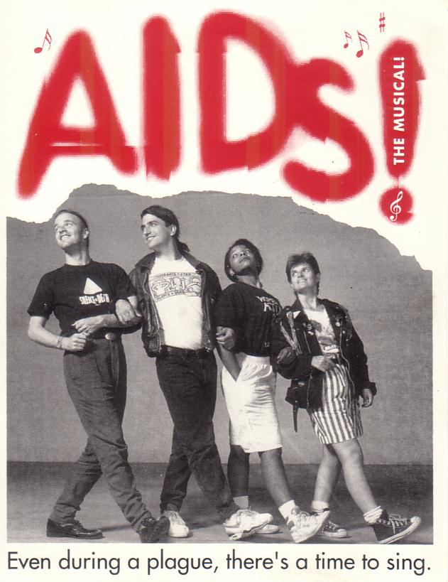 AIDS! The Musical! Postcard