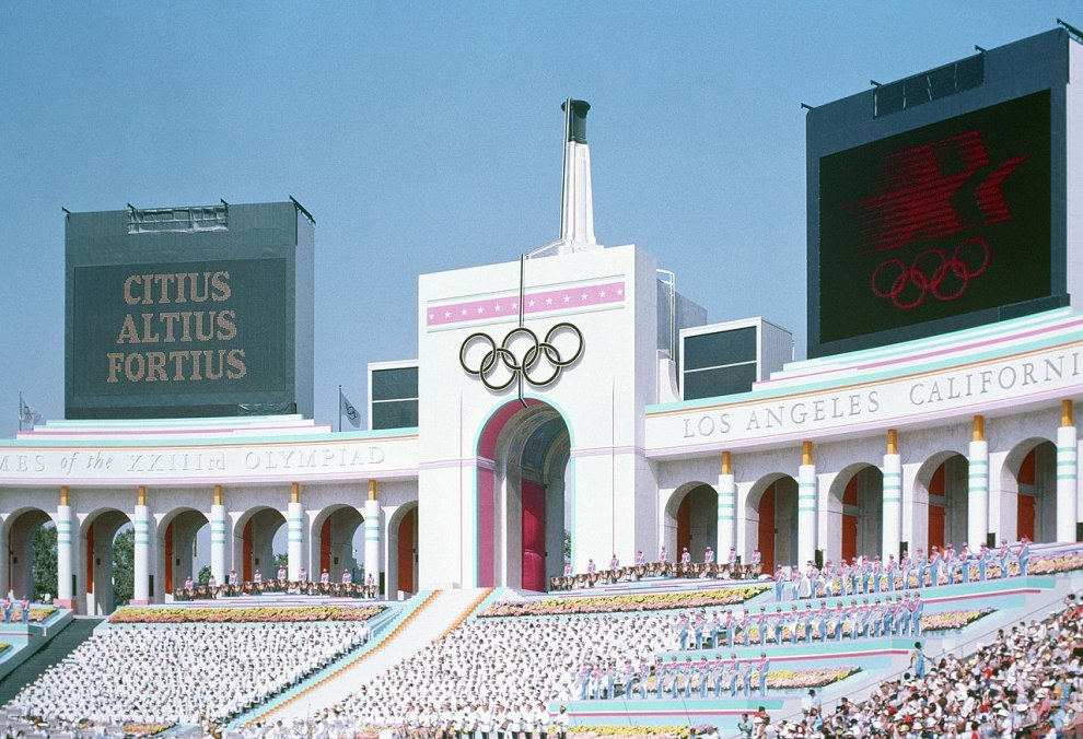 1984 Summer Olympics Opening Ceremony