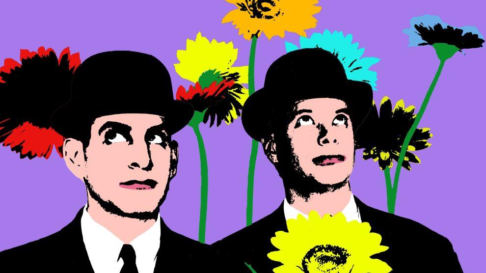 Bachelors Anonymous Photo Illustration