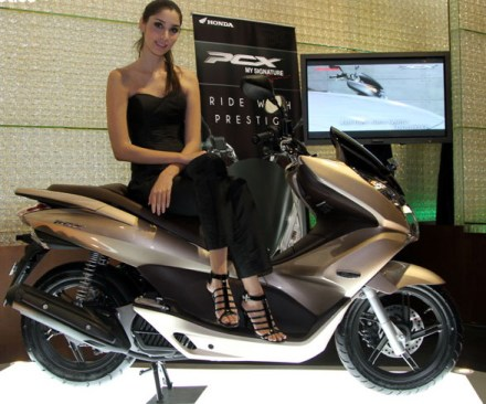 Honda PCX on Ridin'Girls Blog