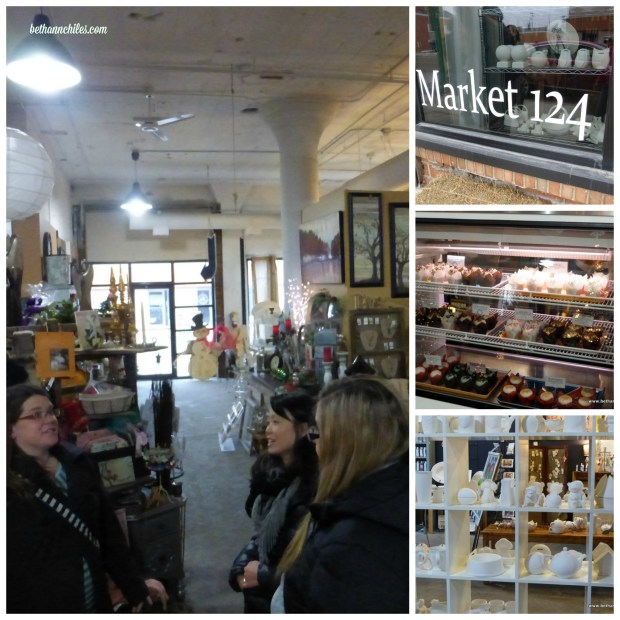 Market 124 is located at 124 N Delaware Ave, Mason City, IA