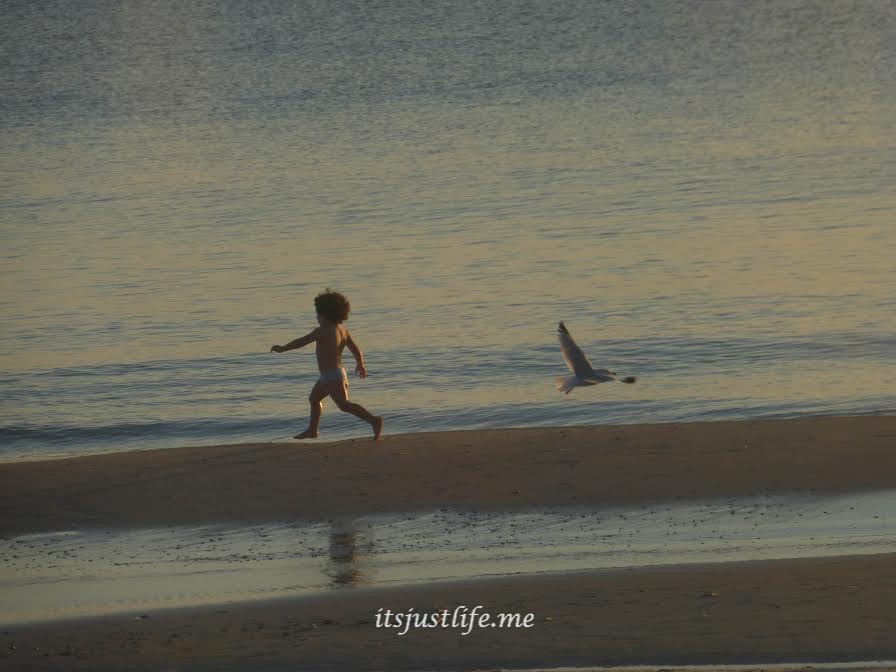 Kid on a Beach at itsjustlife.me