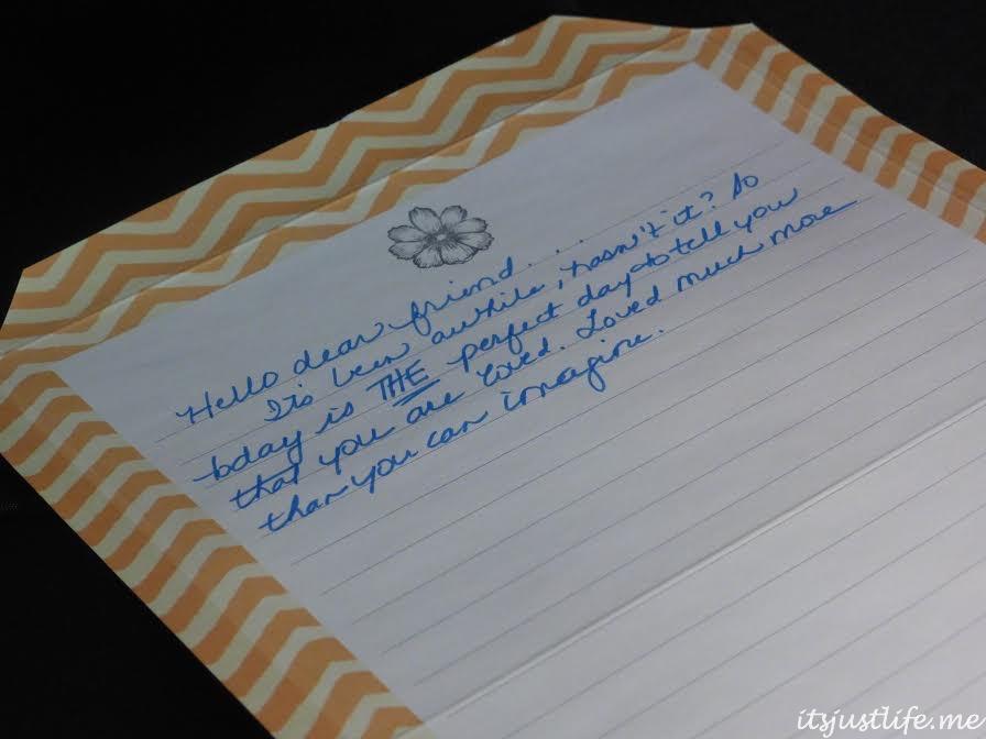 Lenten letters at ItsJustLife.me