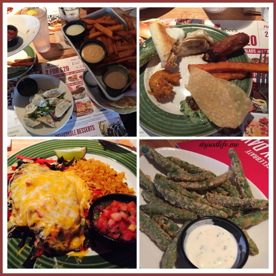 Applebee's Collage