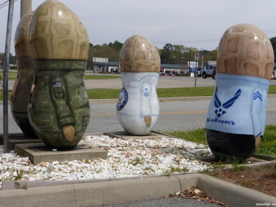 military peanut