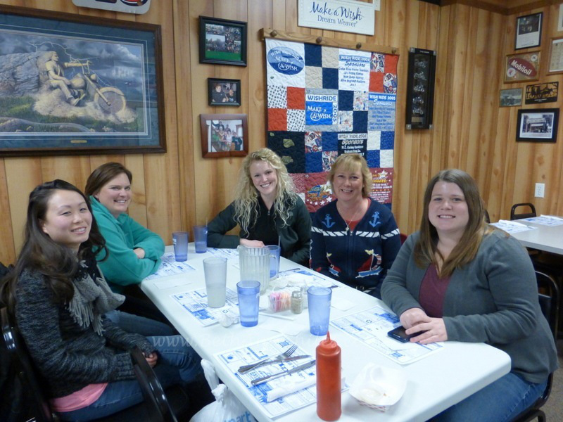 The very first meeting of the North Iowa Bloggers.
