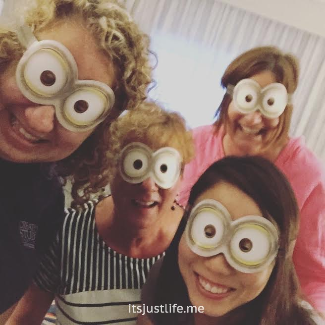 It was Jeni's birthday so we assumed the role of minions whenever we could.