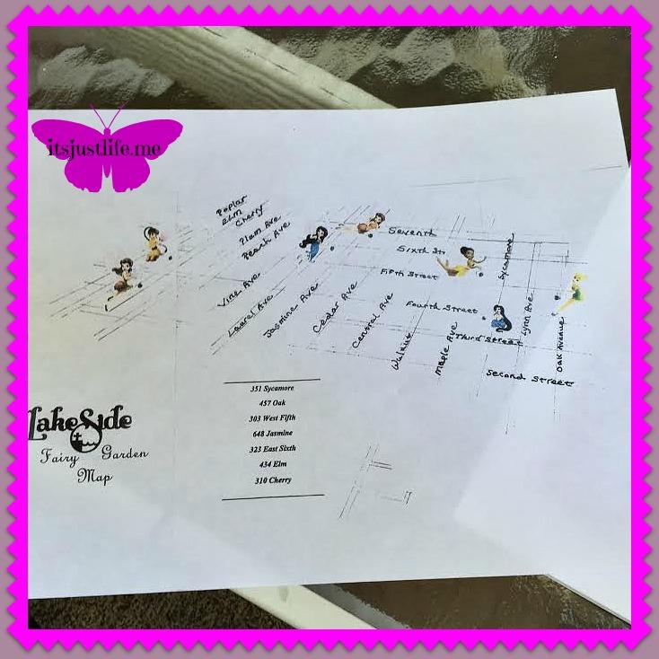 Fairy Garden Map