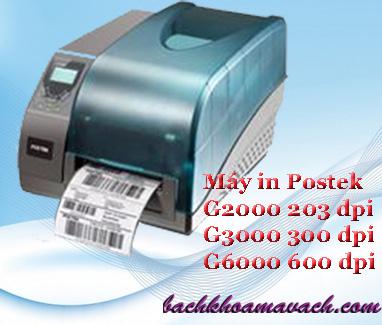Máy in mã vạch Postek G2000