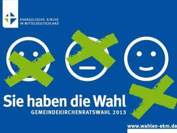 Gemeindekirchenratswahl 2013