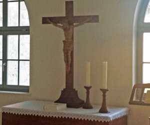 Altar Gemeindehaus Breitungen